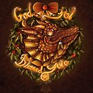 god Jul, Blessed Yule by MishMonster