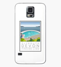 Lido Poster Plymouth Tinside Case/Skin for Samsung Galaxy