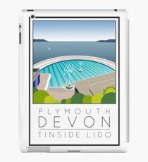 Lido Poster Plymouth Tinside iPad Case/Skin