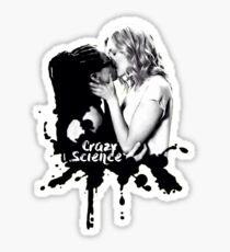 """Cosima and Delphine """"Crazy Science"""" Splatter Sticker"""