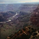 Grand Canyon & Painted Desert stormlight by Lizzy Doe