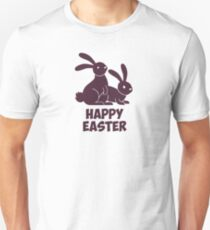 Happy Easter Bunnies Unisex T-Shirt