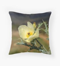 Soft and Sharp Throw Pillow