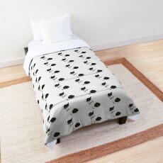 Black and White French Bulldog Comforter