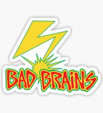 BadBrains Logo Sticker