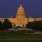 The United States Capitol - Washington D.C. by Matsumoto
