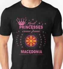 queen real princesses princess from MACEDONIA gift christmas T-Shirt