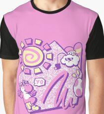 Sommer Yo! Grafik T-Shirt