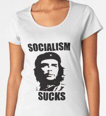 SOCIALISM SUCKS Women's Premium T-Shirt