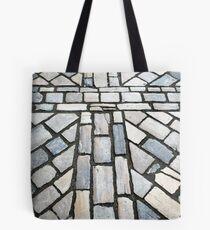 cobblestone cross Tote Bag