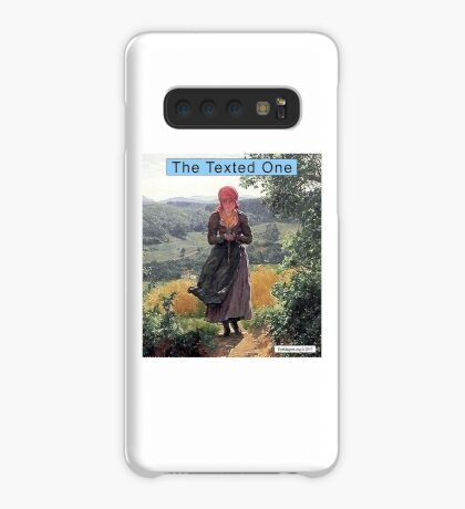 The Texted One Case/Skin for Samsung Galaxy