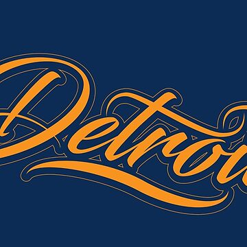 Detroit - Tiger Pride by AridDesigns