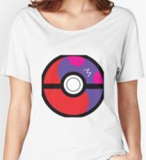 Master Pokeball Ying-Yang Women's Relaxed Fit T-Shirt