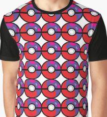 Master Pokeball Ying-Yang Graphic T-Shirt