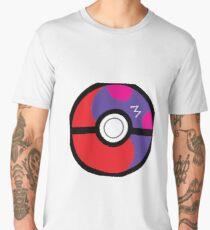 Master Pokeball Ying-Yang Men's Premium T-Shirt