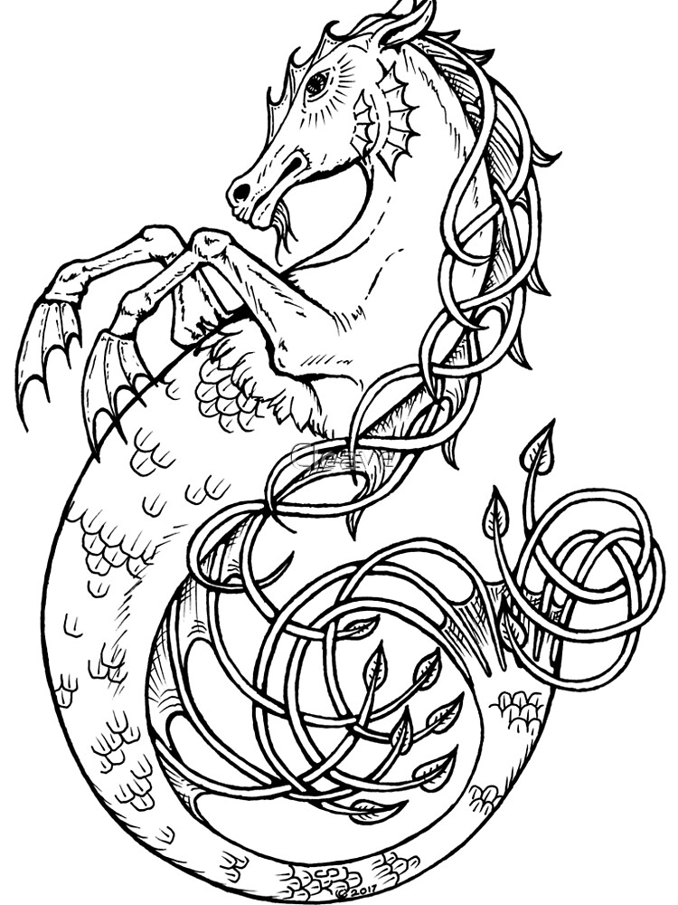 Sea Horse Knotted