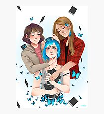 Life is Strange Chloe, Rachel and Max Photographic Print