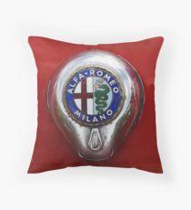 Alfa Romeo Badge Throw Pillow