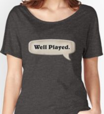 Well Played Emote Women's Relaxed Fit T-Shirt