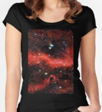 Pink Galaxy 2.0 Women's Fitted Scoop T-Shirt