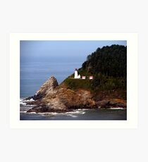 Heceta Head Lighthouse #02 Art Print