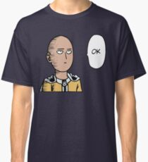 One Punch Man (Saitama - OK) Classic T-Shirt