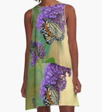 Sipping Nectar A-Line Dress