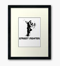 street fighter Framed Print