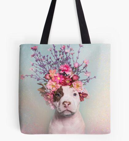 Flower Power, Rum Tote Bag
