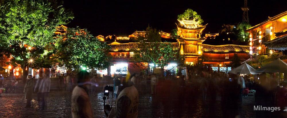 Lijiang Old City Yunan Province China by MiImages