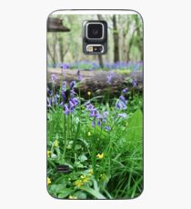 Bluebell wood in Cambridgeshire, England Case/Skin for Samsung Galaxy