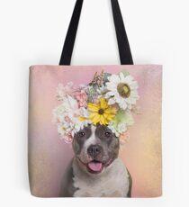 Flower Power, Wren Tote Bag