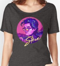 Stranger Things Steve Harrington Women's Relaxed Fit T-Shirt