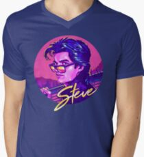Stranger Things Steve Harrington Men's V-Neck T-Shirt