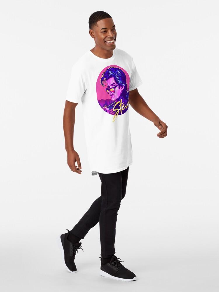 Alternate view of Stranger Things Steve Harrington Long T-Shirt
