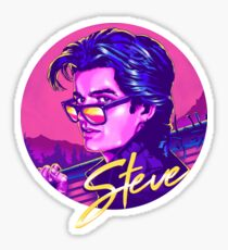 Stranger Things Steve Harrington Sticker