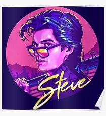 Fremde Dinge Steve Harrington Poster
