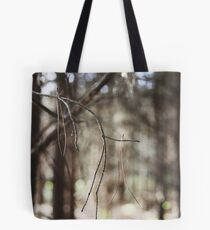 Balance & Interdependence - woodland twigs Tote Bag