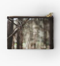 Balance & Interdependence - woodland twigs Studio Pouch