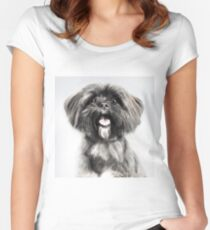 Lhasa Apso Lovers Women's Fitted Scoop T-Shirt
