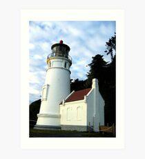 Heceta Head Lighthouse #3 Art Print