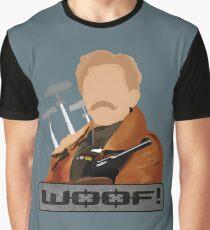 Camiseta gráfica Lord Flashheart 'Woof' Design