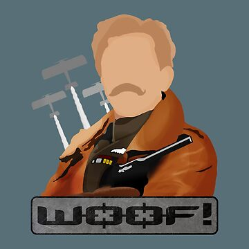 Lord Flashheart 'Woof' Design by davidspeed