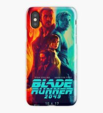 Blade Runner 2049 Poster iPhone Case/Skin