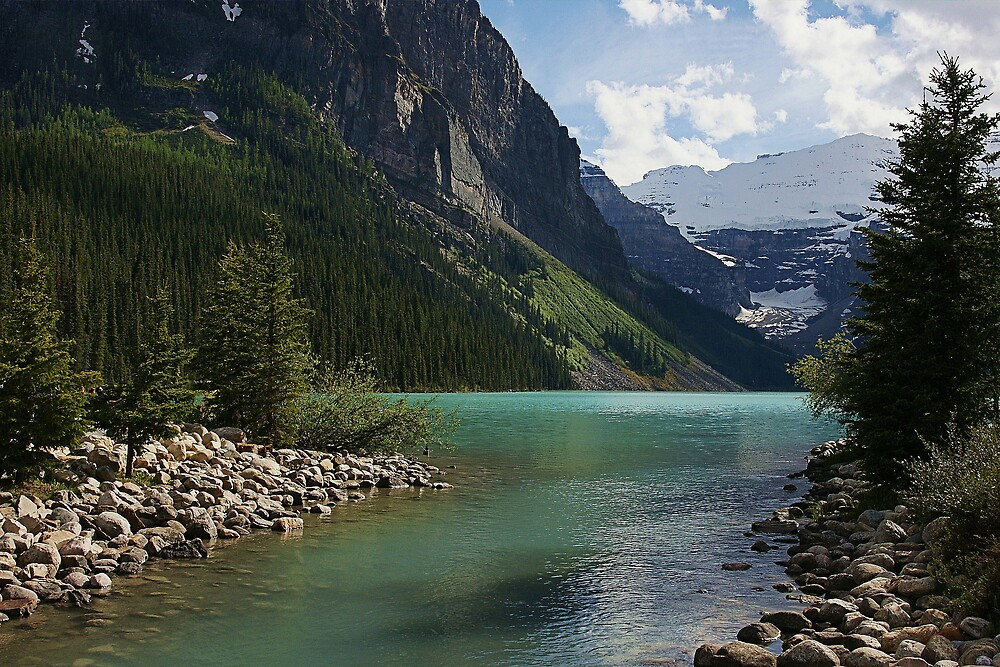 Lake Louise by roger smith