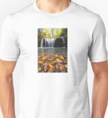 Fall Maple Leaves at Hidden Falls Unisex T-Shirt