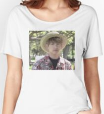 Puffy Jungkook in Hawaii Women's Relaxed Fit T-Shirt