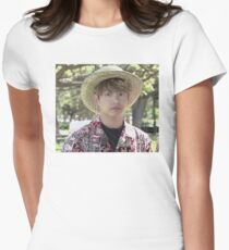 Puffy Jungkook in Hawaii Women's Fitted T-Shirt