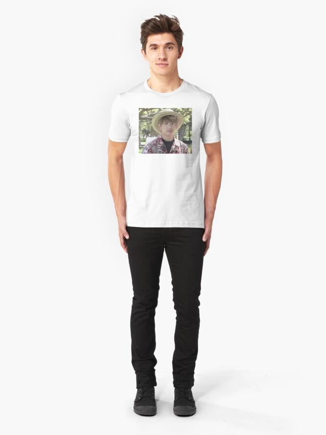 Alternative Ansicht von Puffy Jungkook in Hawaii Slim Fit T-Shirt
