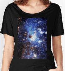 Blue Galaxy 3.0 Women's Relaxed Fit T-Shirt
